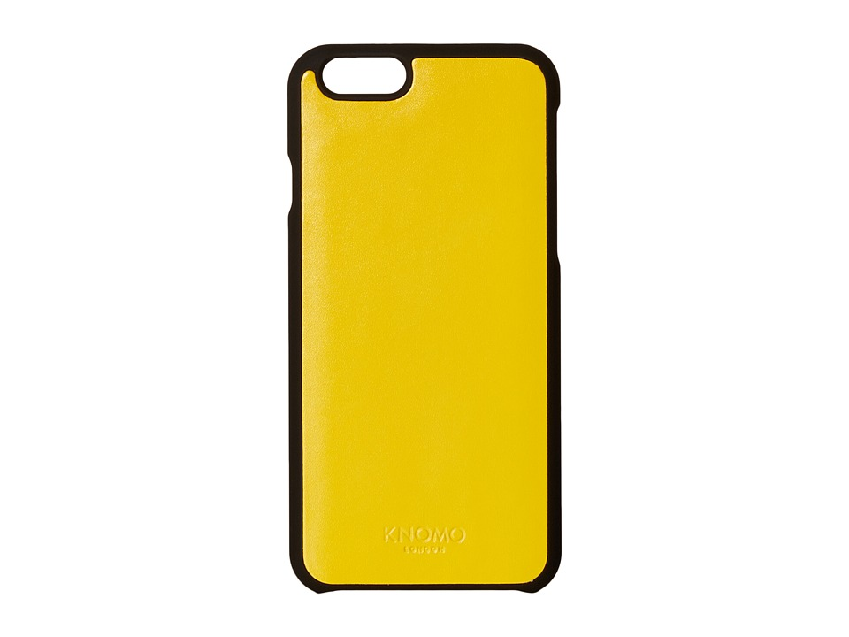 KNOMO London - Magnet Open Face iPhone 6/6s Case (Yellow) Cell Phone Case