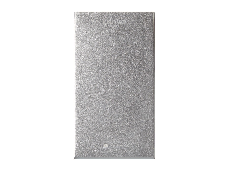 KNOMO London - 4000mah Battery (Silver) Wallet