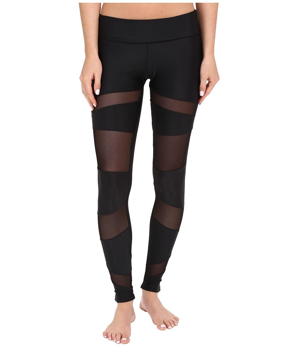Onzie Bondage Leggings Black Womens Casual Pants