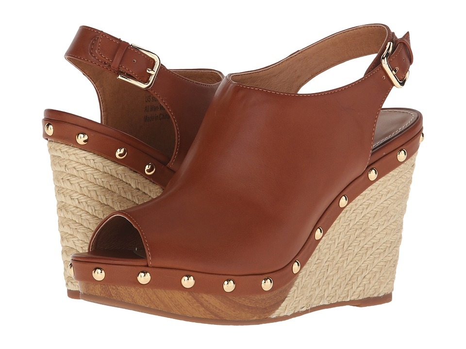 VOLATILE Wilden Brown Womens Wedge Shoes