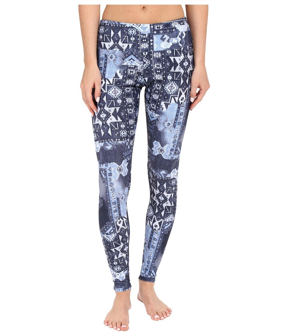 Onzie Azul Long Leggings Azul Womens Casual Pants