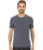 Calvin Klein Jeans - Navy Striped Crew Tee