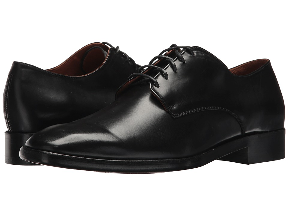 Frye - Weston Oxford (Black Smooth Veg Calf) Mens Lace up casual Shoes