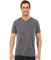 Calvin Klein Jeans - Acid Wash Jersey Slub V-Neck T-Shirt