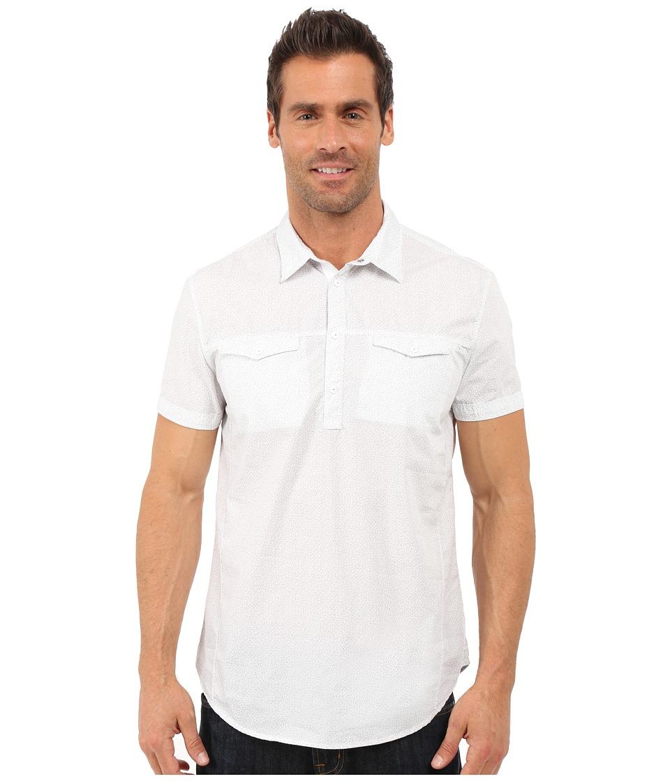 Calvin Klein Jeans Pinball Print Popover White Mens Clothing