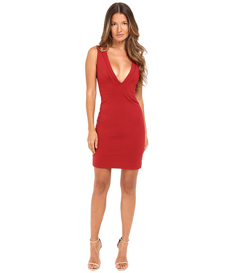DSQUARED2 Viscose Compact Dress - Red