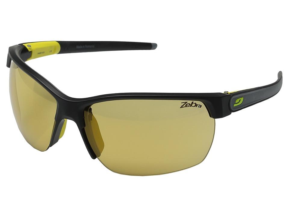 Julbo Eyewear Zephyr Black/Yellow/Gray Sport Sunglasses