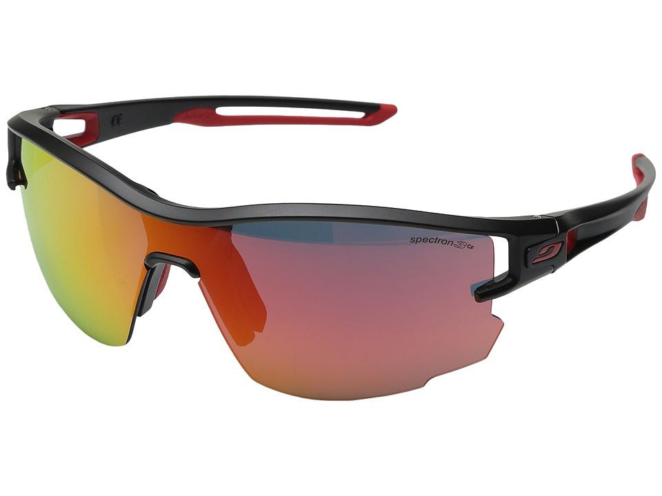 Image of Julbo Aero With Spectron 3cf Lens Black/Red - Julbo Eyewear