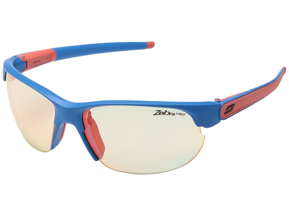 Julbo Eyewear Breeze Matte Blue/Coral Sport Sunglasses