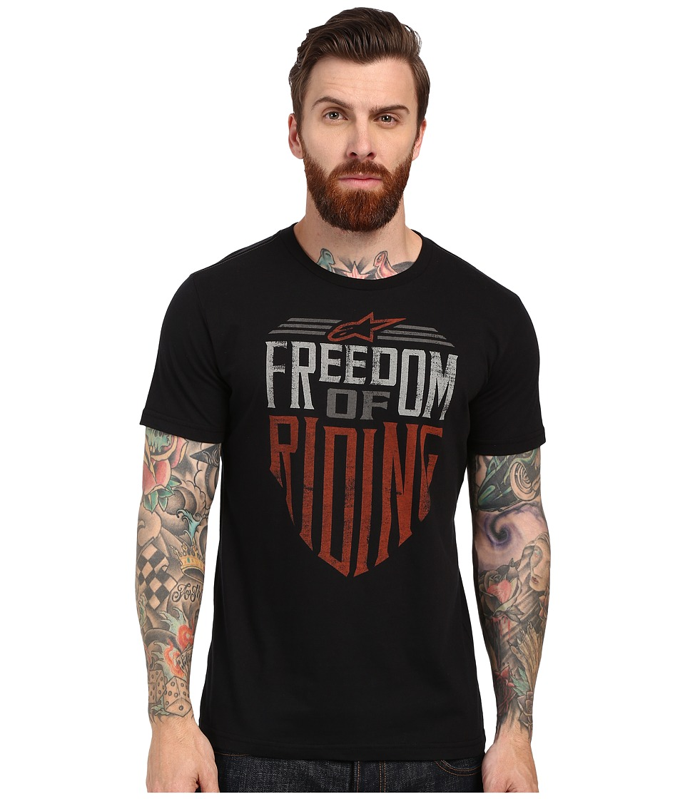 Alpinestars Freedom Tee Black Mens T Shirt