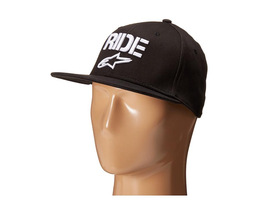 Alpinestars Ride Flat Hat Black Caps
