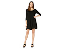 3/4 Sleeve Maggie Trapeze Dress