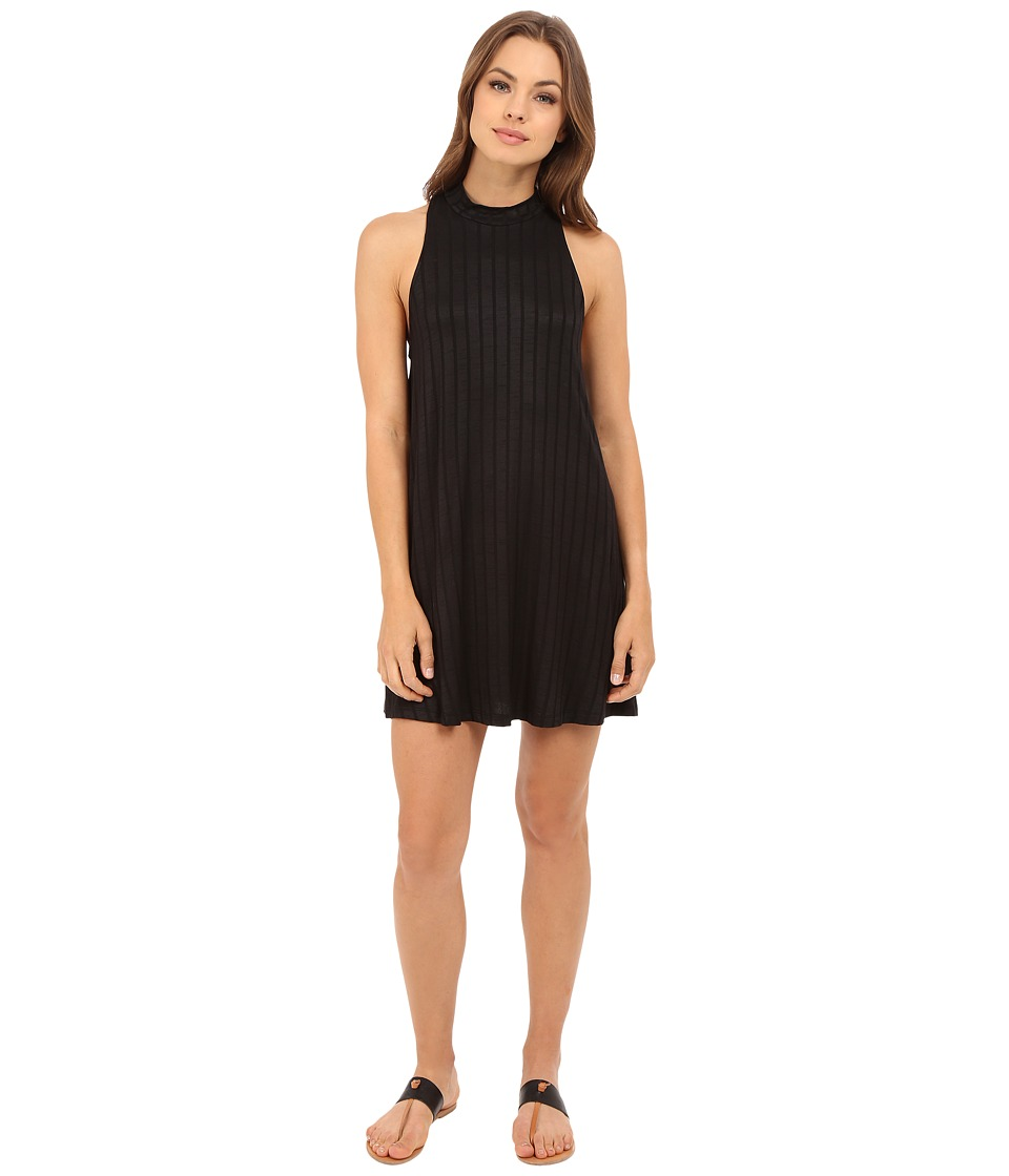 Lucy Love Zaria Swing Dress Black Womens Dress