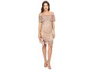 Granada Off the Shoulder Woven Lace Dress