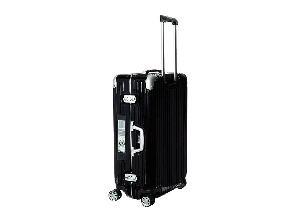 Rimowa Limbo 29 Mutliwheel with Rimowa Electronic Tag (Black) Luggage
