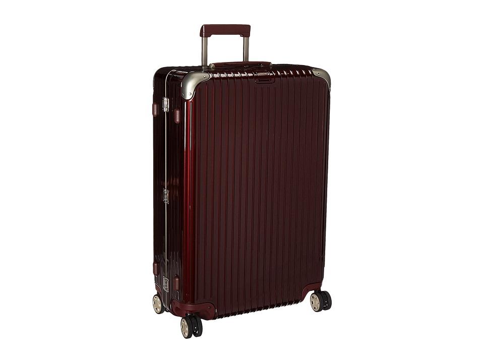 Rimowa Limbo 32 Mutliwheel with Rimowa Electronic Tag (Carmona Red) Luggage