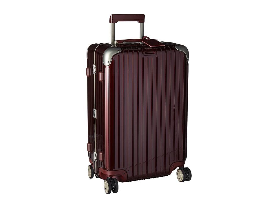 Rimowa Limbo 26 Mutliwheel with Rimowa Electronic Tag (Carmona Red) Luggage