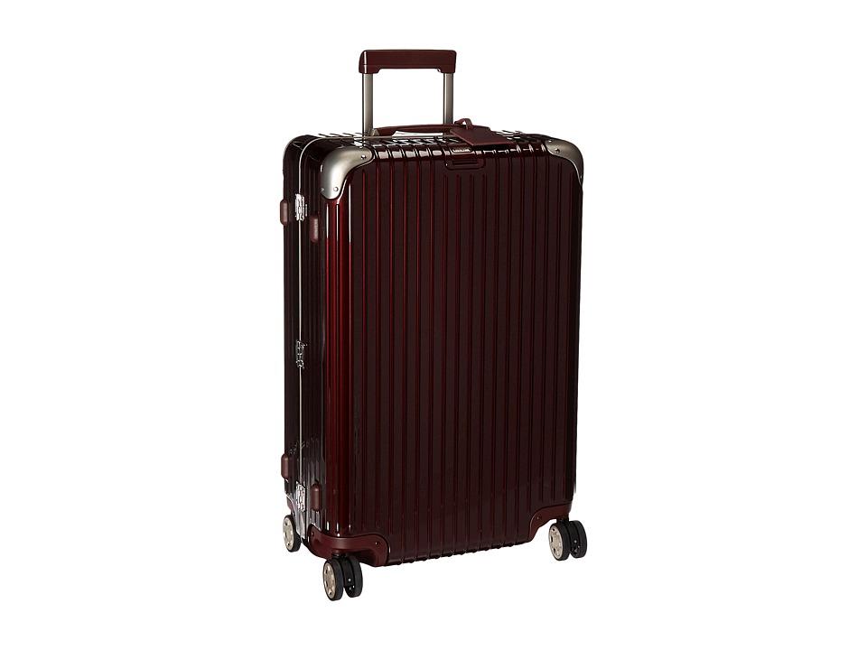 Rimowa Limbo 29 Mutliwheel with Rimowa Electronic Tag (Carmona Red) Luggage