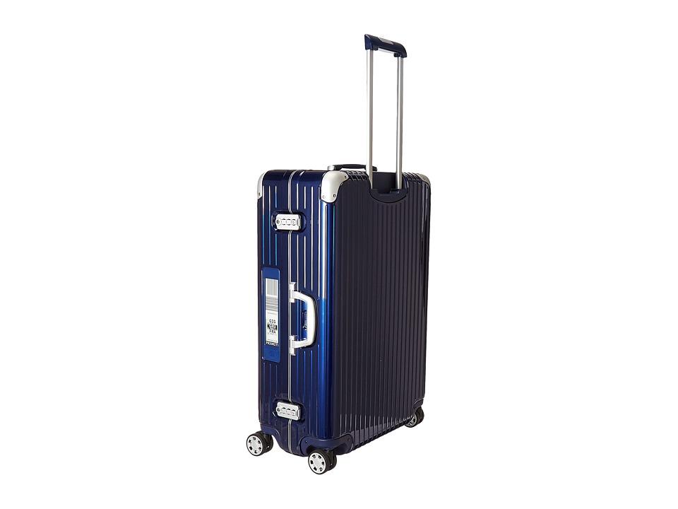 Rimowa Limbo 32 Mutliwheel with Rimowa Electronic Tag (Night Blue) Luggage