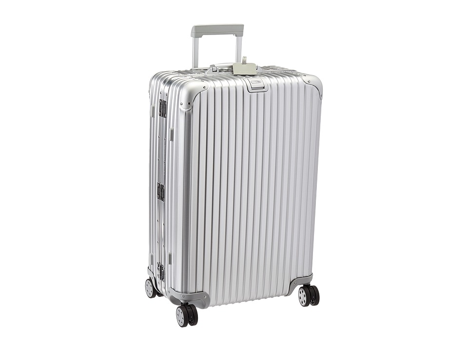 Rimowa Topas 29 Multiwheel with Rimowa Electronic Tag (Silver) Luggage