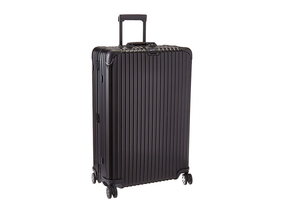 Rimowa Topas Stealth 32 Multiwheel with Rimowa Electronic Tag (Black) Luggage