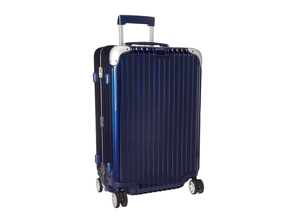 Rimowa Limbo 26 Mutliwheel with Rimowa Electronic Tag (Night Blue) Luggage