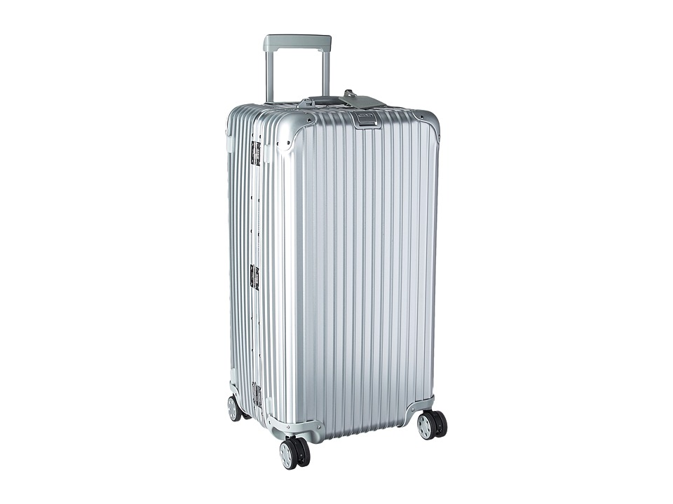 Rimowa Topas 32 Sport Trunk Multiwheel(r) with Rimowa Electronic Tag (Silver) Luggage
