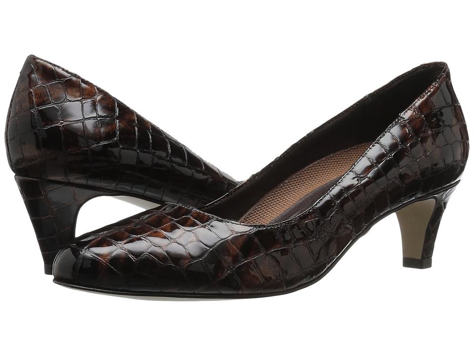 Walking Cradles Joy (Brown Patent Crocco) Women's Shoes