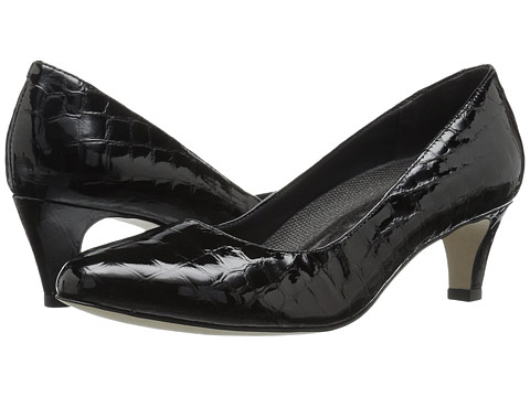 Walking Cradles Joy - Black Patent Crocco