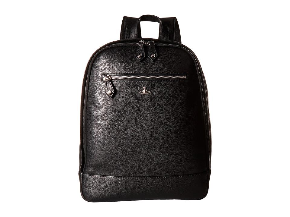 Vivienne Westwood - Milano Backpack (Black) Backpack Bags