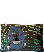 Vivienne Westwood - Africa Manhole Teddy Zip Pouch