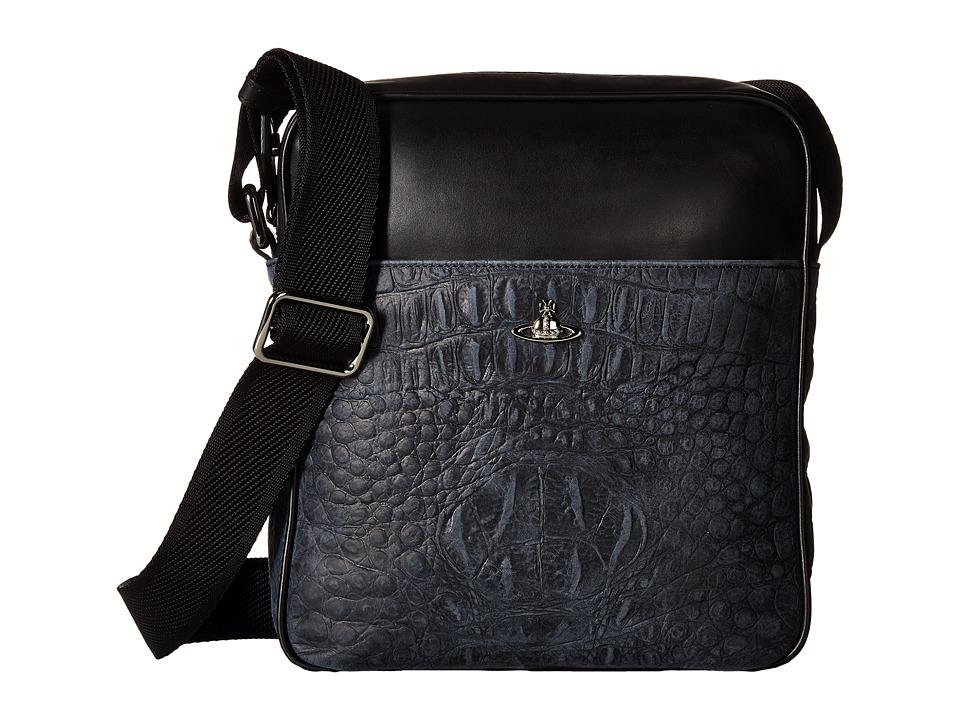 Vivienne Westwood Amazon Port Case (Black) Messenger Bags