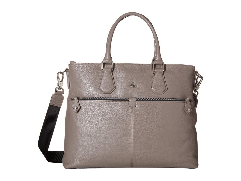 Vivienne Westwood - Milano Messenger Bag (Grey) Messenger Bags