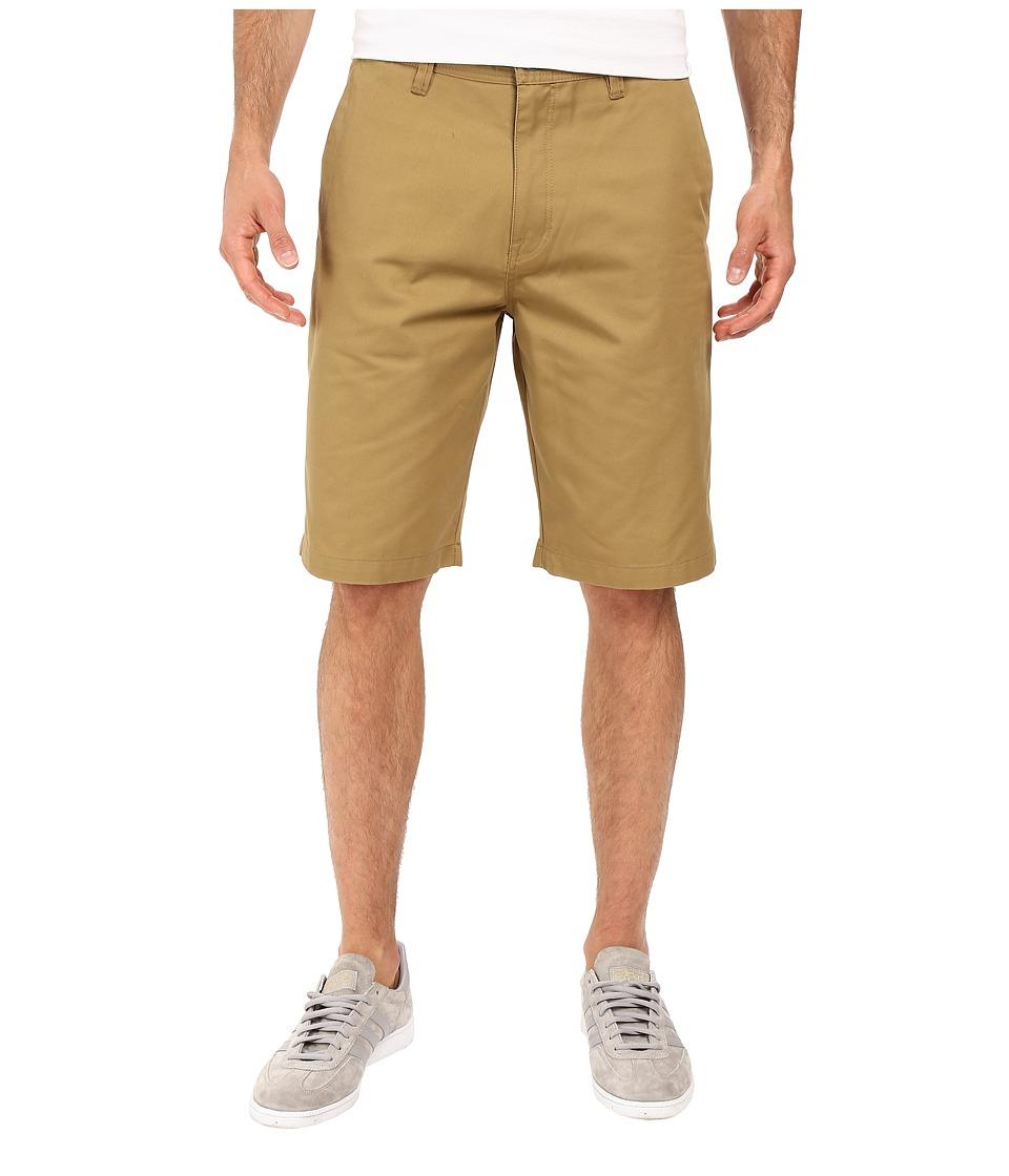 Volcom Frickin Chino Shorts (Dark Khaki) Men