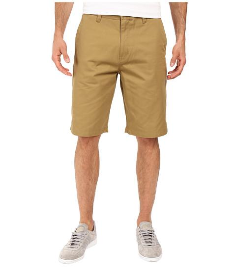 Volcom Frickin Chino Shorts - Dark Khaki