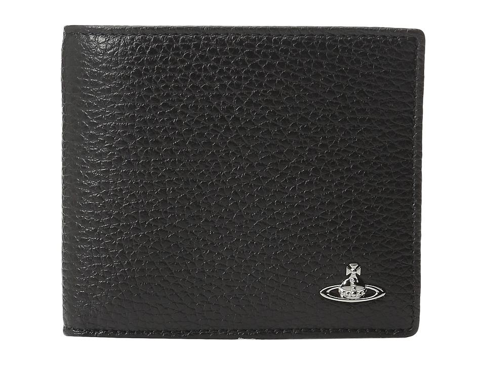 Vivienne Westwood - Milano Wallet (Black) Wallet Handbags