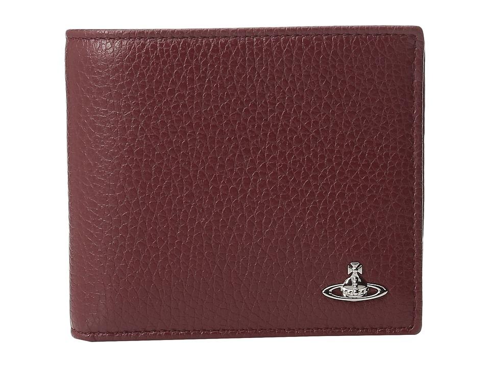 Vivienne Westwood - Milano Wallet (Bordeaux) Wallet Handbags