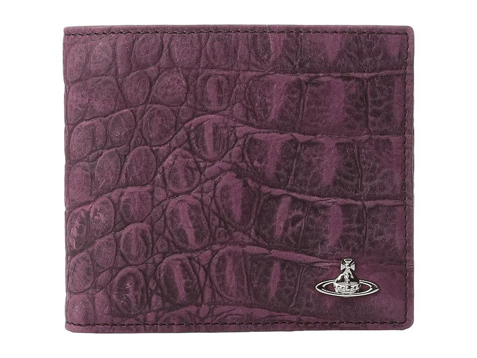 Vivienne Westwood - Amazon Bifold Wallet (Purple) Wallet Handbags