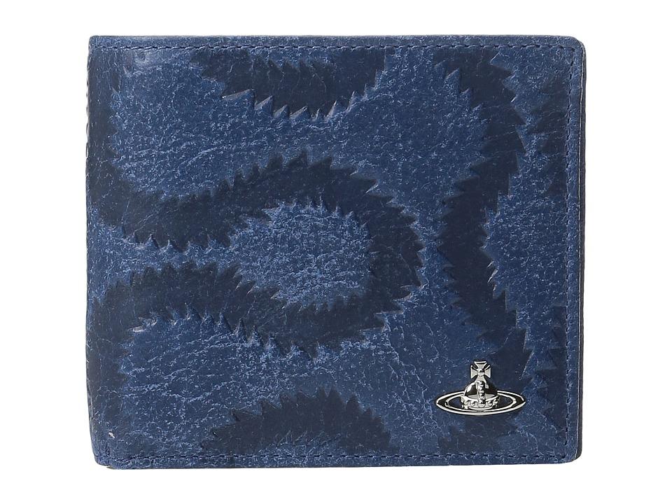 Vivienne Westwood - Belfast Wallet (Blue) Wallet Handbags