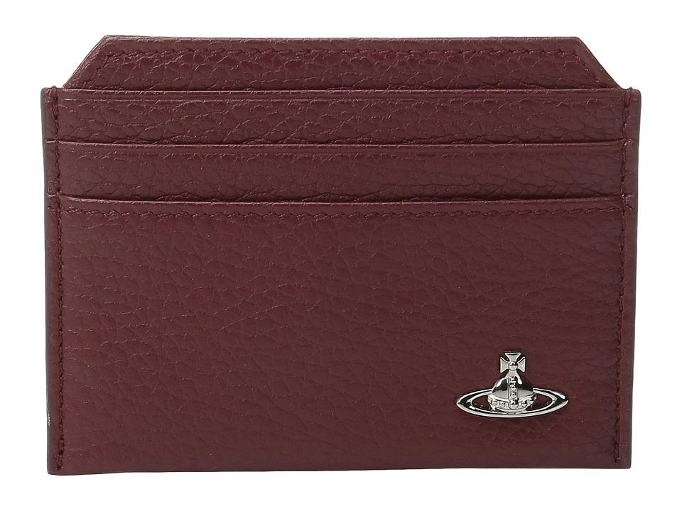 Vivienne Westwood - Milano Small Card Holder (Bordeaux) Credit card Wallet