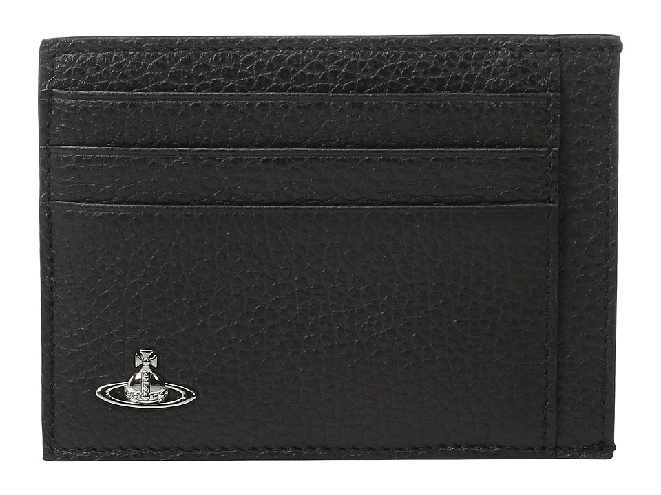 Vivienne Westwood - Milano Card Holder (Black) Credit card Wallet
