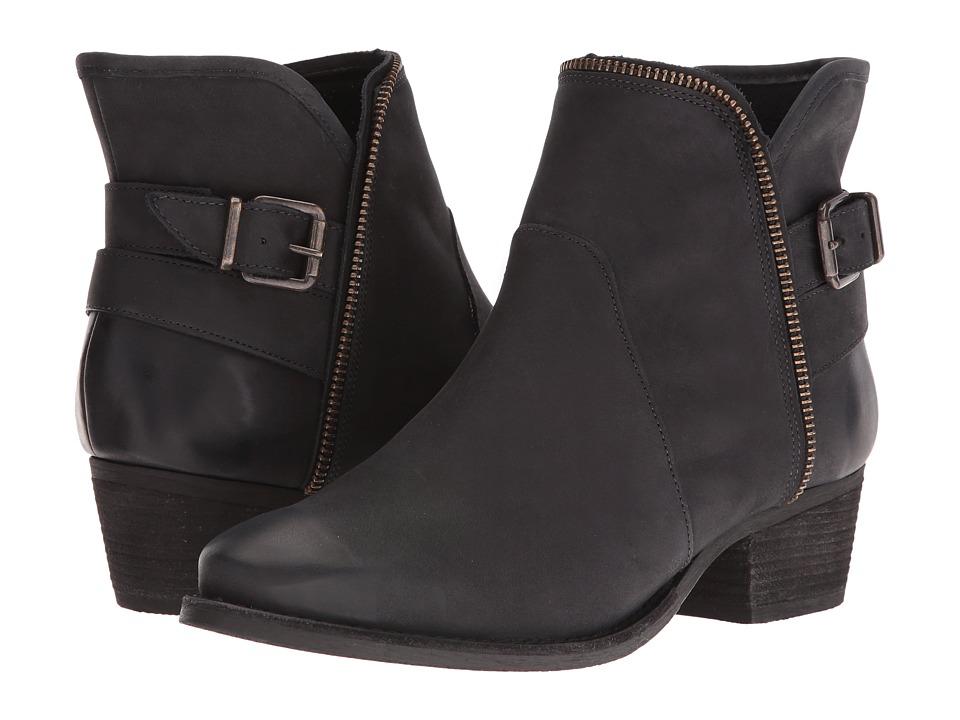 Walking Cradles Gaston (Black Distressed Leather) Women