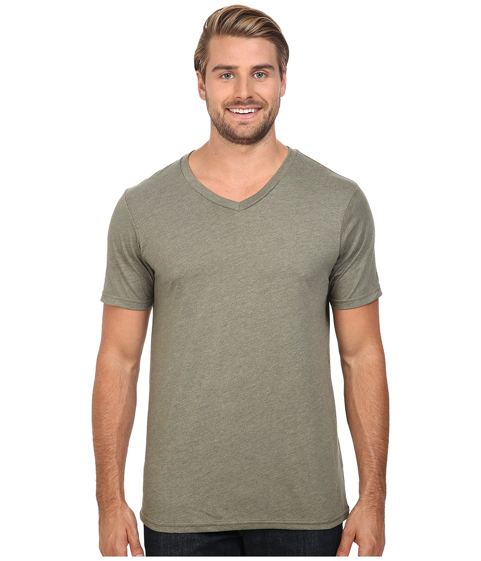 Volcom - Heather V-Neck Tee (Vineyard Green Heather) Men's T Shirt