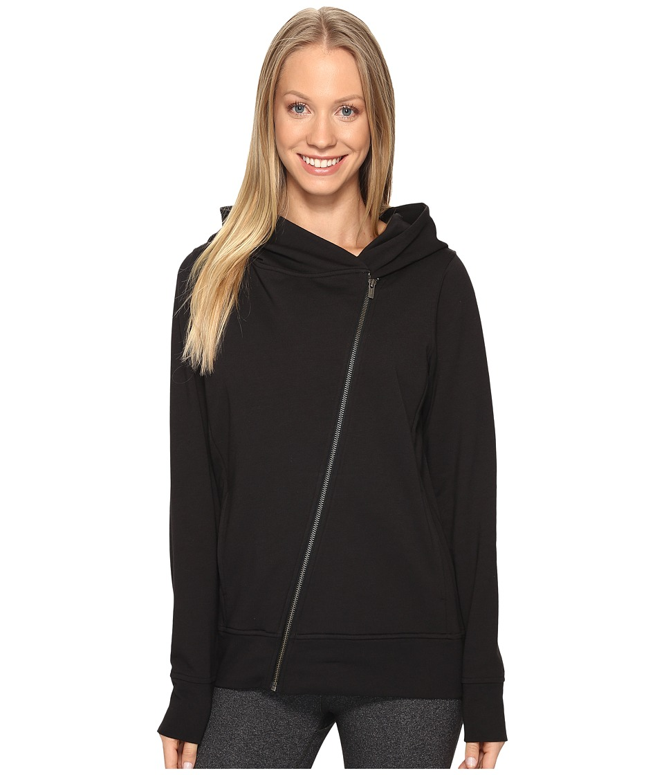 Lucy Hatha Everyday Terry Full Zip (Lucy Black) Women