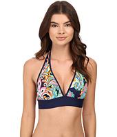 Tommy Bahama - Mare Paisley Reversible Halter Bikini Top
