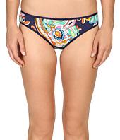 Tommy Bahama - Mare Paisley Reversible Hipster Bikini Bottom