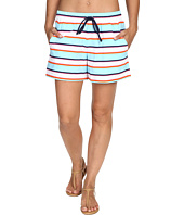 Tommy Bahama - TB Rugby Stripe Elastic-Waist Short Cover-Up