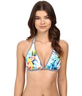 Tommy Bahama - Fleur de Lite Reversible Halter Bikini Top