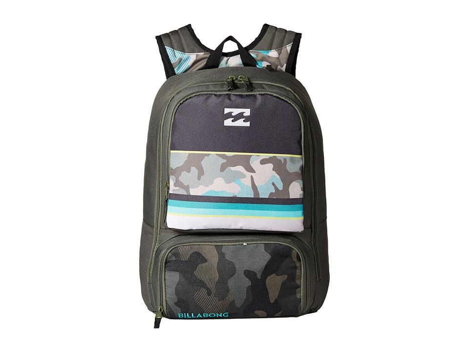 Billabong - Juggernaught Backpack (Fatigue) Backpack Bags