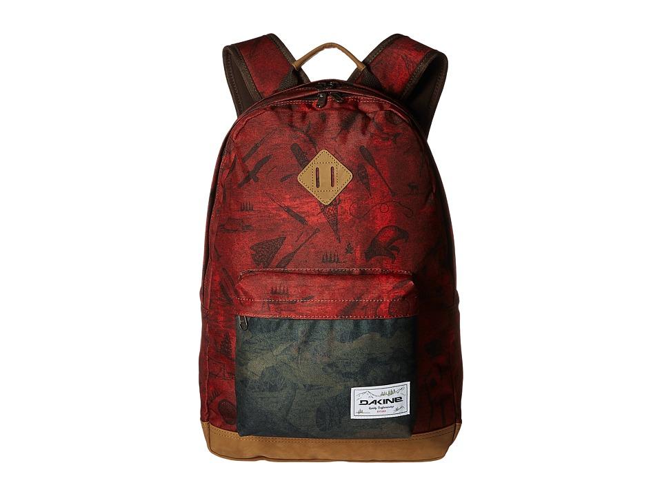 Dakine - Detail 27L Backpack (Northwoods) Backpack Bags